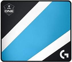 Logitech G640 Large Cloth Gaming Mousepad (Black/Blue)