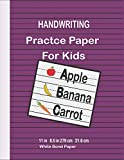 HANDWRITING PRACTICE PAPER FOR KIDS: Top Flight Multi-Method 1st Grade Primary Tablet, 1 Inch Ruling, Bond Paper, 11 x 8.5 Inches, 108 Sheets (56415)