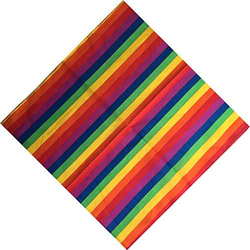 jackyee Festival Colorido de Rayas estrechas Rainbow Rainbow Seven ...