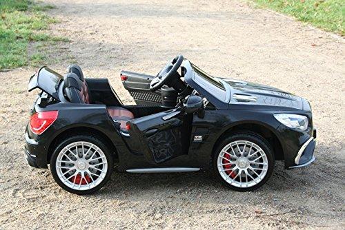 RC Auto kaufen Kinderauto Bild 2: Mercedes-Benz Kinderauto SL65 AMG Coupe Elektroauto Kinderfahrzeug Ledersitz (schwarz)*
