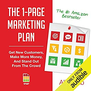 Couverture de The 1-Page Marketing Plan