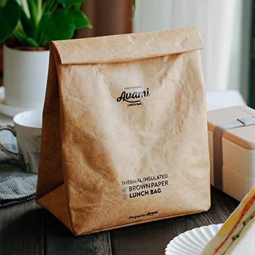 avami(アヴァミ)『ブラウンペーパーランチバッグ』