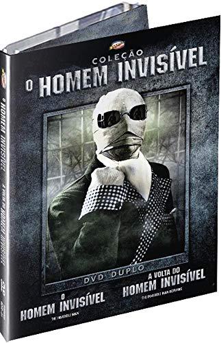 Dpac Duplo O Homem Invisível - A Volta do Homem Invisível