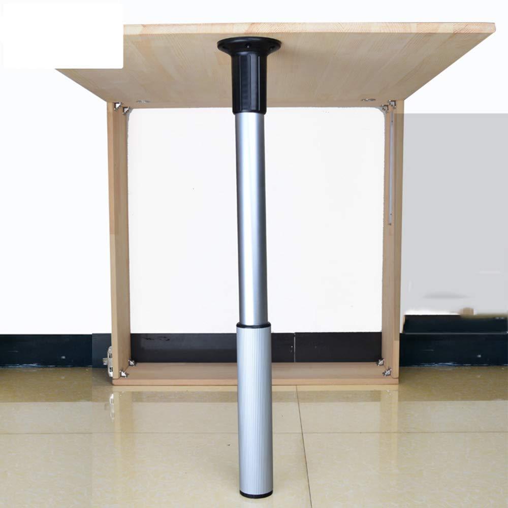 Paquete de 4 patas de mesa abatibles telescópicas patas plegables ...