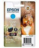 Epson Cyan - Cartucho de tinta para impresoras válido para EPSON Expression Photo XP-8500, XP-8505, 4,1 ml, 360 páginas, Ampolla, Ya disponible en Amazon Dash Replenishment