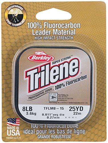 Berkley Ø 0,25mm Trilene 100% Fluorocarbon LEADER je Spule 25m