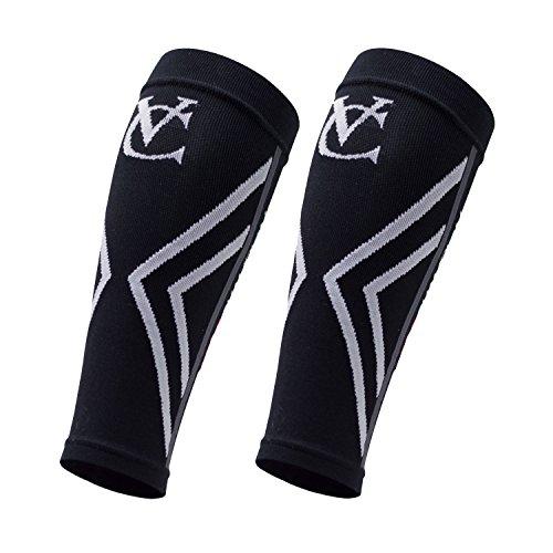 VeloChampion Kompression Socken, Kalb-Unterstützung, Kalb Ärmel (schwarz klein) - 2