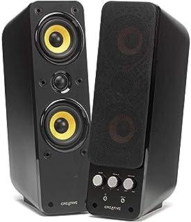 Creative GigaWorks T40 Series II system głośników 2.0 (Hi-Fi, stereo/AUX-IN, Line-IN/16 W RMS), kolor czarny