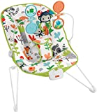 Fisher-Price Baby's Bouncer – Forest Explorers, Baby Bouncing Chair for Soothing and Play for Newborns and Infants