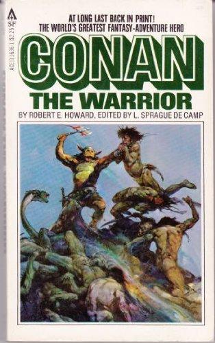 Conan the Warrior 0441116361 Book Cover