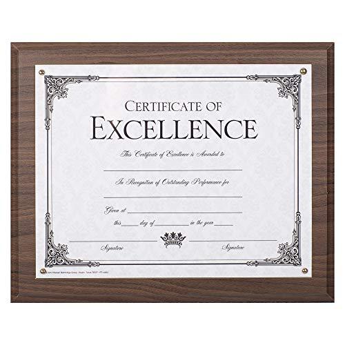 Walnut Plaque Award - 2