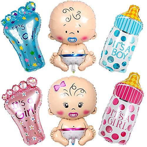 Liitata 6 globos de fiesta de género Reveal, decoración de fiesta para...