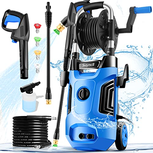 Suyncll Electric Pressure Washer 3600PSI Max 2.8 GPM Power Washer...