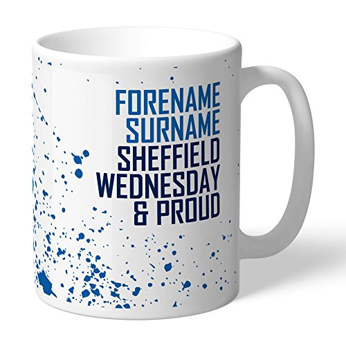 Personalised Official Sheffield Wednesday FC Proud Mug