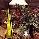ILUMINACIÓN DE DISEÑO Árbol de Navidad Moderno Pirámide de LED, Plata, 60cm