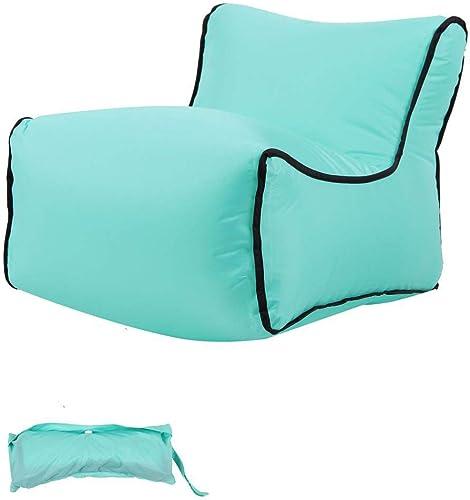 Sofa Gonflable Hamac Gonflable Avec Oreiller, Sac De RangeHommest Intégré, Air Sofa Pour Camping En Bord De La Mer Et Voyage En Plein Air -35  50  35cm