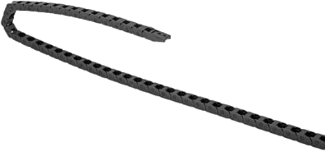 Transportador de cables de cadena de arrastre con conectores de extremo de pl/ástico para m/áquinas el/éctricas CNC Router Grupo 34 Sourcingmap