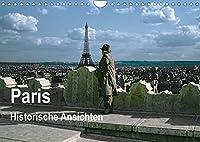 Paris - Historische Ansichten (Wandkalender 2022 DIN A4 quer): Paris - Die Stadt der Liebe in historischen Abbildungen (Monatskalender, 14 Seiten )