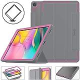 SEYMAC Stock Galaxy Tab A 10.1 Case, Three Layer Lightweight Shockproof Cover...