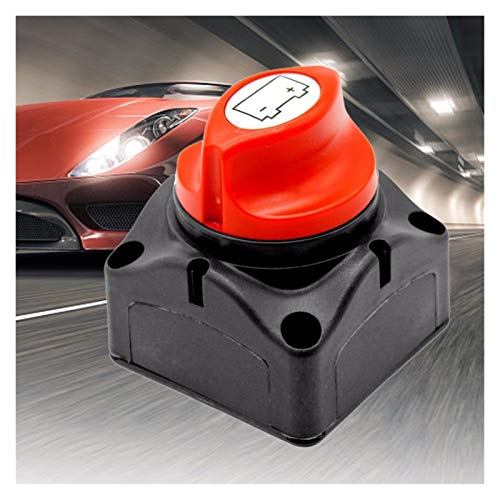 ZWF Store 600A Rated Corriente Auto Batería Interruptor de alimentación de la batería Potencia de protección Banda protectora Batería Batería de la batería Desconecte el interruptor de aislador