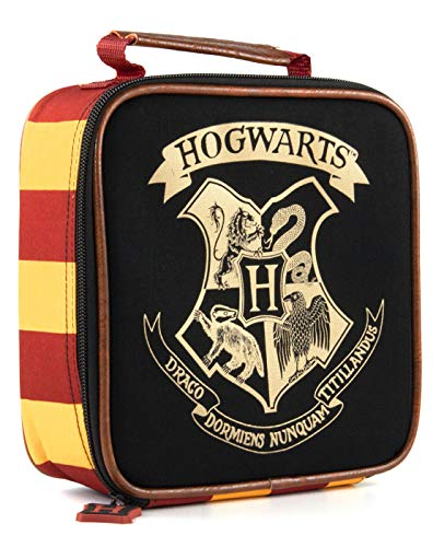 Harry Potter Pranzo Borsa per bambini Hogwarts Crest Crest Food Pranchbox One Size