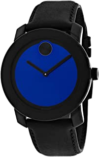 Movado Men's Blue Dial Watch - 3600481