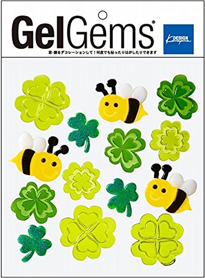順応性雑多な名門GelGems(ジェルジェム) ジェルジェムバッグS 「ミツバチクローバー」(E0071079)