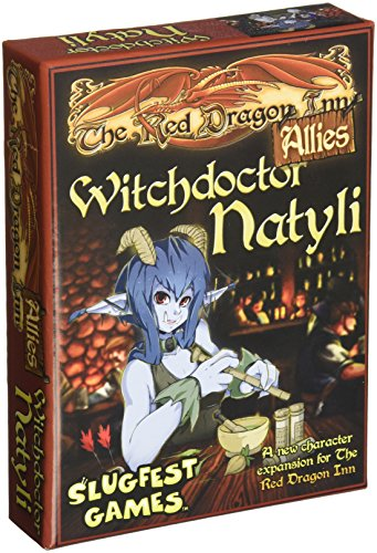 Slugfest Games Red Dragon Inn: Allies - Witchdoctor Natyli (Red Dragon Inn Expansion) Board Game