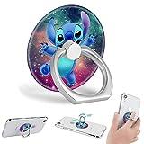Handy-Ringhalter, 360 Grad drehbar, für alle Smartphones & Tablets, Stitch Galaxy