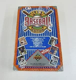 1992 upper deck baseball box