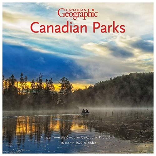 Canadian Parks Kalendar 2020 Geographische Wand, offizielles Produkt