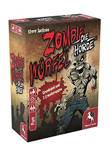 Pegasus Spiele 51834G - Zombie Würfel - Die Horde
