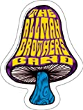 C&D Visionary Licenses Products Allman Shroom Die Cut Sticker