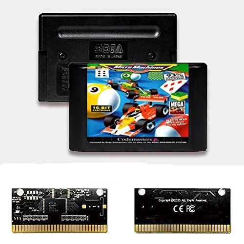 Yuva Micro Machines EUR Label Flashkit MD Tarjeta PCB dorada sin electricidad...