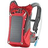MMFXUE Solar-Laderucksack, Multifunktions-Business-Tasche Anti-Diebstahl-Rucksack, Reisen Wandern Trekking-Paket für Outdoor-Rucksack, Rucksäcke unterwegs