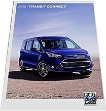 2016 Ford Transit Van 32-page Original Sales Car Brochure Catalog