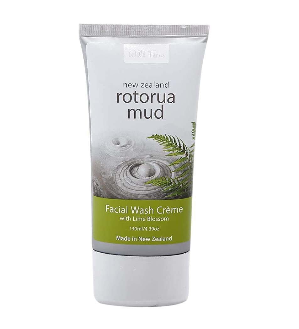 Wild Ferns Rotorua Mud Facial Wash 130ml x 1 [Personal Care] / ??????????130 mL?X 1 [???????]