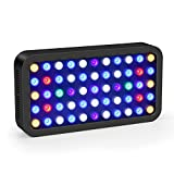 Roleadro LED Acuario Marino 165W 2.4G wifi Remoto y Manual Pantalla LED...