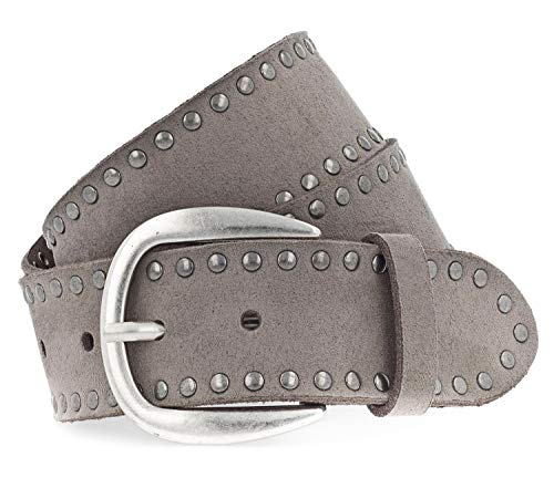 Vanzetti The Power of Patent Leather 40mm LackLeather Belt W100 Taupe