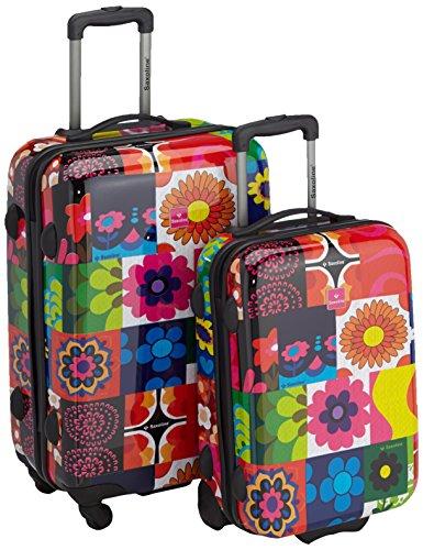 Saxoline - Set di valigie, Multicolore, 82.0 liters, 49 cm e 60 cm