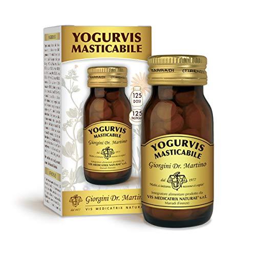 Dr. Giorgini Yogurvis Masticabile - 125 Pastiglie Da 400-50 Gr