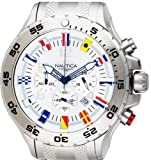 ORIGINAL NAUTICA NST CHRONO FLAG WATCH A29513G