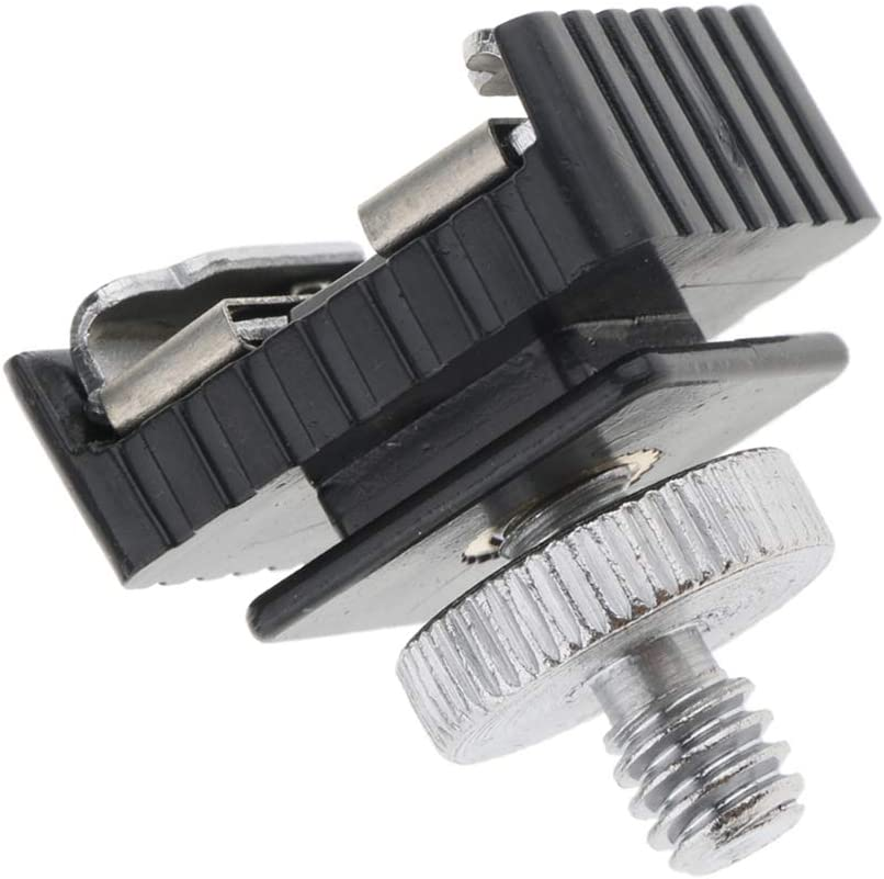 Homyl External Microphone Hot Shoe Flas OFFicial site Max 58% OFF Adapter for Mount Camera