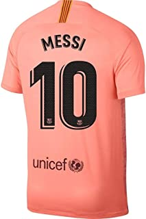 Official Barcelona 2018/19 3rd Jersey Messi 10 Adult Sizes