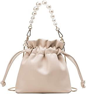 DZTZ Summer Chain Small Bag Woman New 2019 Pearl Bucket Bag Shoulder Messenger Bag