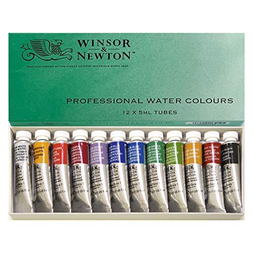 Windsor & Newton Artists Water 5ML Tube 12C Set (Japan Import)