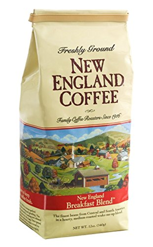 New England Coffee - Ground - Breakfast Blend 12oz (Pack of 2)