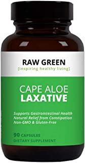 Raw Green Organics - RawJuvenate - Super Aloe - Gastrointestinal Support - 90 Plant Capsules