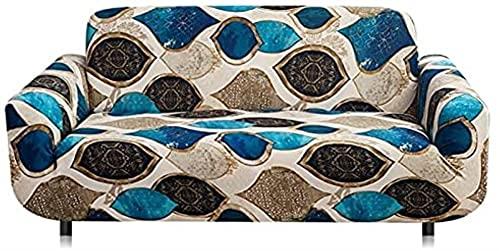 POPXP Fundas de sofá para 1 2 3 4 plazas Sala de estar Funda de sofá elástica Combinación Funda de cojín de protección de muebles Funda de sofá antideslizante A32 3 plazas lavable