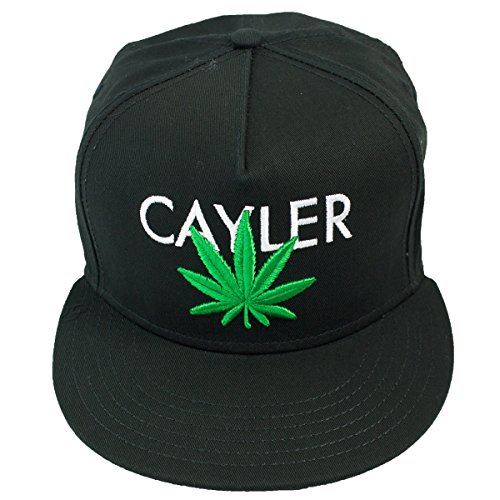 Cayler And Sons - Casquette Snapback Homme Cayler Cap - Black/Green/White